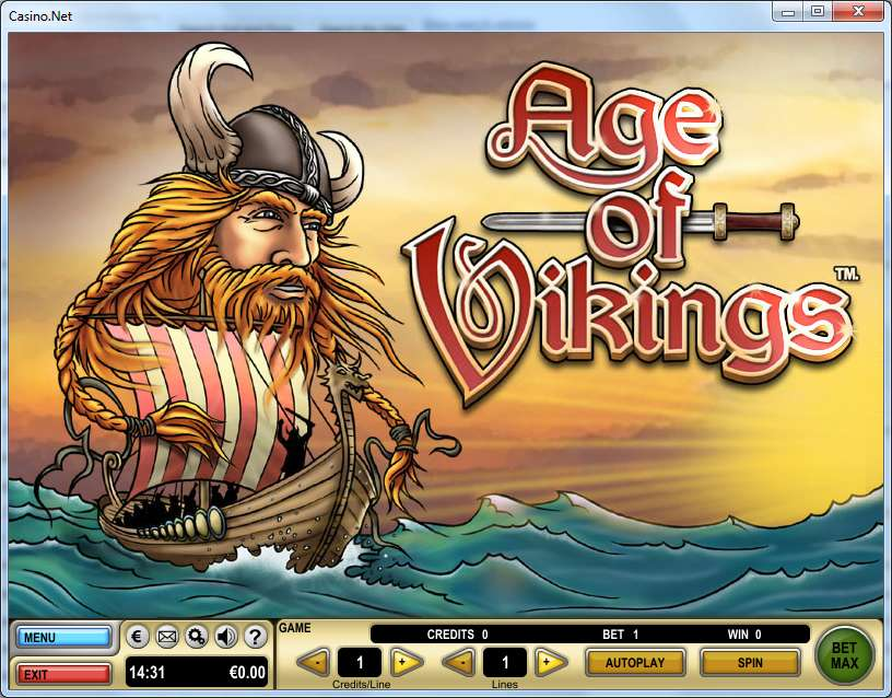 Age of Vikings Video Slot by Spielo