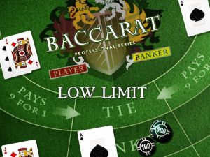 Baccarat Pro Low Limit Online Casino Game By NetEnt