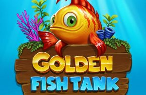 Quirky Aquatic Themed Golden Fish Tank Slot